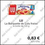 Bon Plan Lu : Barquette Lulu à la Fraise à 0,06 € - anti-crise.fr