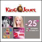 King Jouet : - 25 % sur Barbie, Monster High et Fisher Price - anti-crise.fr