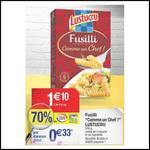 "Pâtes Fusilli ""Comme un Chef"" Lustucru à 0,03 € chez Cora - anti-crise.fr"