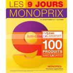 Catalogue Monoprix du 30 septembre au 11 octobre