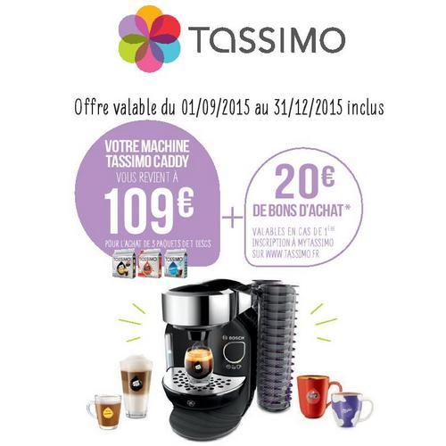 Offre de Remboursement Tassimo