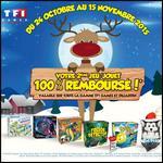 Offre de Remboursement TF1 Games / Dujardin : Le 2ème Jouet/Jeu 100 % Remboursé - anti-crise.fr