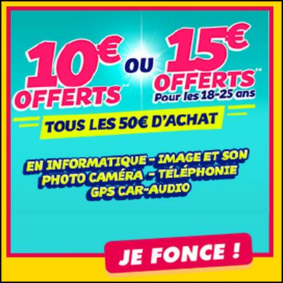 bon de reduction cdiscount 50