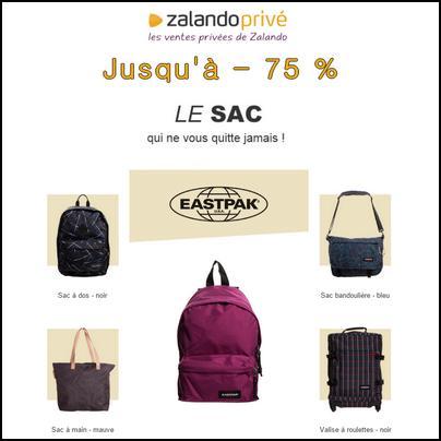 144e5739af6 Bon Plan Zalando   Vente privée Eastpak jusqu à - 75 ...