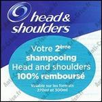 Offre de Remboursement Head & Shoulders : 2ème Shampooing 100 % Remboursé - anti-crise.fr