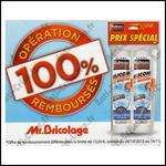 Offre de Remboursement Rubson/Mr Bricolage : Lot de 2 Cartouches Silicone Bain & Cuisine 100 % Remboursé - anti-crise.fr