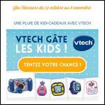 Instants Gagnants Confidentielles : Une pluie de Kidi-cadeaux avec Vtech - anti-crise.fr