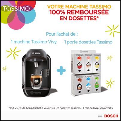 Offre de remboursement bosch votre tassimo 100 - Code promo collectionnez les etoiles frais de port gratuit ...
