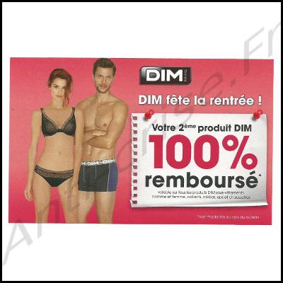 Offre de Remboursement Dim : Votre 2ème Produit 100% Remboursé - anti-crise.fr