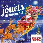 Catalogue de Noël Atac du 28 octobre au 30 novembre