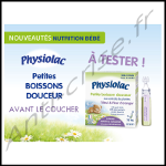 Test de Produit Consobaby : Petite Boisson Douceur de Physiolac - anti-crise.fr