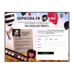Tirage au sort Sephora : voyage à New-York à gagner ! anti-crise.fr