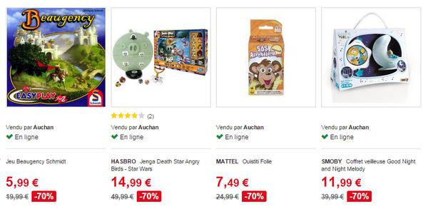 bon plan d stockage de jouets sur le site auchan. Black Bedroom Furniture Sets. Home Design Ideas