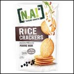 Tests de Produits : Rice Crackers poivre noir de Nature Addict - anti-crise.fr