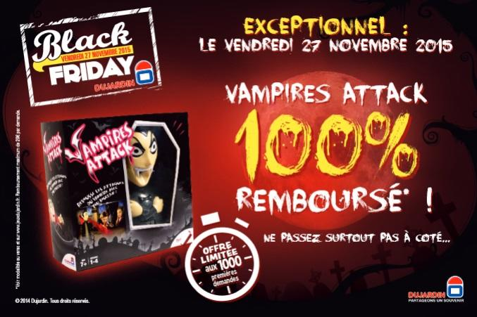 Offre de remboursement dujardin jeu vampires attack 100 for Dujardin remboursement