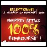 Offre de Remboursement Dujardin : Jeu Vampires Attack 100 % Remboursé - anti-crise.fr