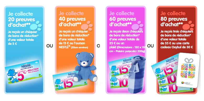 collecteur nestle