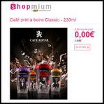 Offre de Remboursement Shopmium : Café prêt à boire Classic 100 % Remboursé - anti-crise.fr