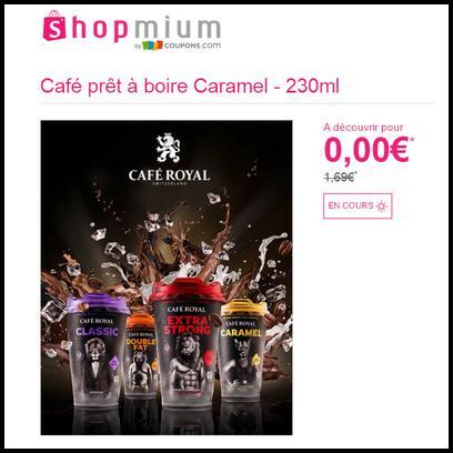 offre de remboursement shopmium caf pr t boire caramel 100 rembours catalogues promos. Black Bedroom Furniture Sets. Home Design Ideas