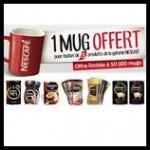Bon Plan Croquons La Vie : 1 Mug Offert pour l'achat de 3 produits Nescafé - anti-crise.fr