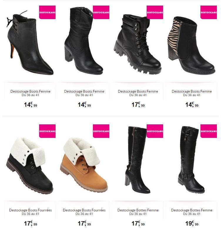 De 14 Bon À Chaussures Plan 99 Partir TatiDestockage Femme tdorBsChQx