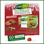 Tirage au sort Bio à la une : 50 boites de Spéculoos sarrasin bio et sans gluten à gagner ! anti-crise.fr