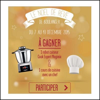 Tirage au sort Boulanger : Robots culinaire à gagner !  anti-crise.fr