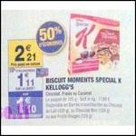 Bon Plan Kellog's : Biscuit Moment Spécial K à 0,50 € chez Carrefour Market - anti-crise.fr