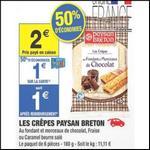 Bon Plan Paysan Breton : Crêpes à 0,50 € chez Carrefour Market - anti-crise.fr