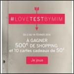 Tirage au Sort Mim : Bon d'achat d'une valeur de 500 € à Gagner - anti-crise.fr
