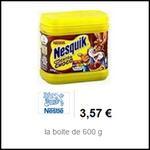 Bon Plan Nesquik : Boîte Extra Choco à 0,06€ chez Intermarché - anti-crise.fr