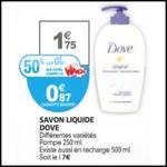 Bon Plan Dove : Savon Liquide à 0,07 € chez Auchan - anti-crise.fr