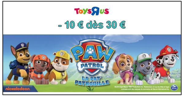 Bon Plan Pat Patrouille 10 Dès 30 D Achat Chez Toys R Us