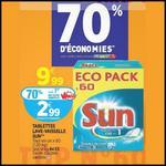 Bon Plan Sun : La Boîte de 60 Pastilles à 1,49 € ou 1,69 € chez Auchan - anti-crise.fr