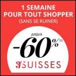 Bon Plan 3 Suisses : Jusqu'à -60% + 10% supplémentaires et livraison offerte - anti-crise.fr
