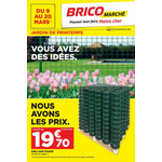 Catalogue Bricomarché du 9 au 20 mars