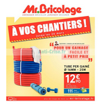 Catalogue Mr Bricolage du 8 au 26 mars