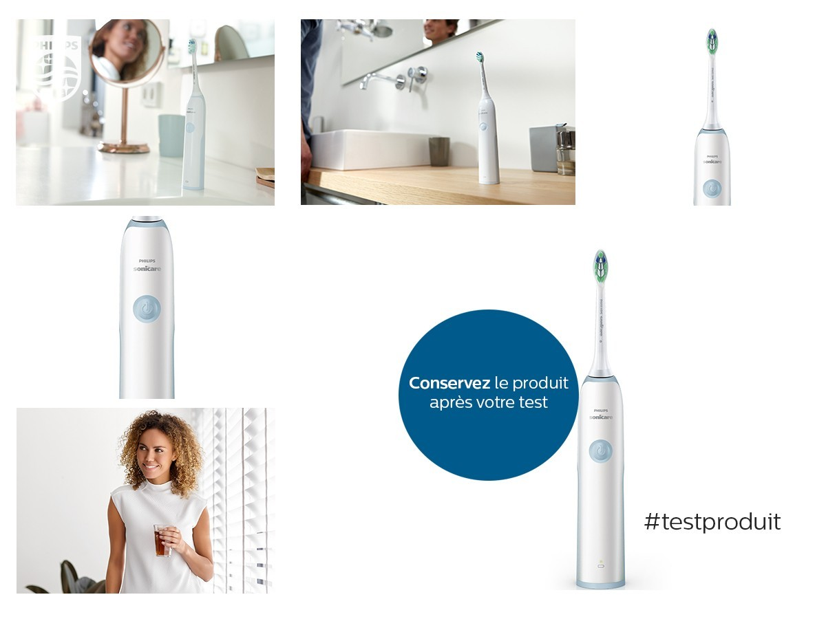 test de produit philips brosse dents electrique sonicare s rie 1 plaque d fense catalogues. Black Bedroom Furniture Sets. Home Design Ideas