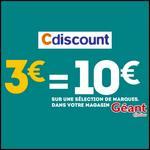 Bon Plan Cdiscount : 3€ = 10€ sur des Produits d'Hygiène chez Géant Casino - anti-crise.fr