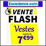 Bon Plan Excedence : Vestes Homme ou Femme à partir de 7,99€ - anti-crise.fr