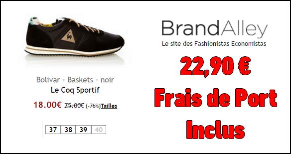 Bon plan le coq sportif basket bolivar 22 90 sur - Code promo tati frais de port gratuit ...