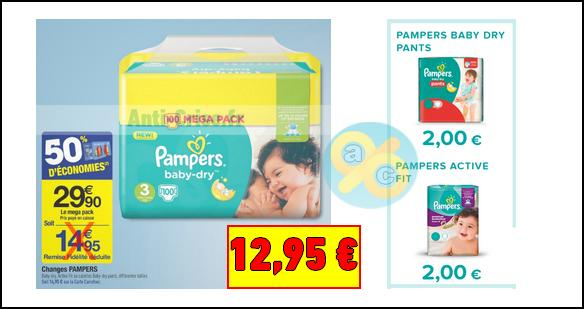 Coupon reduction couche pampers cadeau folies - Reduction couches pampers a imprimer ...