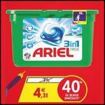Bon Plan Ariel : La Boîte de 19 Capsules 3en1 à 1,30€ chez Intermarché - anti-crise.fr