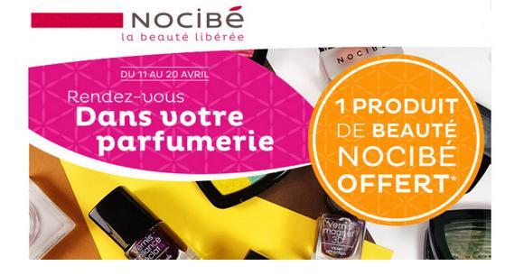 Bon Plan Nocibé : 1 Produit de Beauté Offert - anti-crise.fr