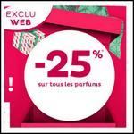 Bon Plan Nocibé : -25% sur Tous les Parfums - anti-crise.fr