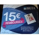 Offre de Remboursement Brita : 15€ Remboursés - anti-crise.fr