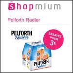 Offre de Remboursement Shopmium :  2 Offres Pelforth Radler à découvrir pour 3€ - anti-crise.fr