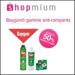 Offre de Remboursement Shopmium : Jusqu'à 50% sur Baygon® gamme anti-rampants - anti-crise.fr