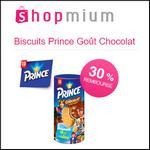 Offre de Remboursement Shopmium : 30% sur Biscuits Prince Goût Chocolat - anti-crise.fr