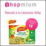 Offre de Remboursement Shopmium : 4 Offres sur le Taboulé Zappeti à découvrir pour 1€ - anti-crise.fr